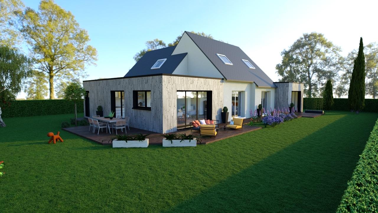 Extension maison en bois, la solution isolation ?